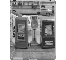 New York Street News iPad Case/Skin
