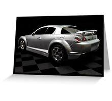 Toy Mazda Greeting Card