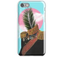 PALM MAN (Framed). iPhone Case/Skin
