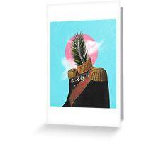 PALM MAN. Greeting Card