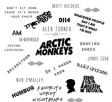 Arctic Monkeys Collage by MayaTauber