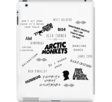 Arctic Monkeys Collage iPad Case/Skin