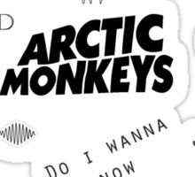 Arctic Monkeys Collage Sticker