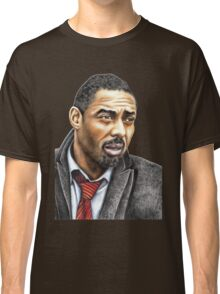 Idris Elba plays Luther Classic T-Shirt