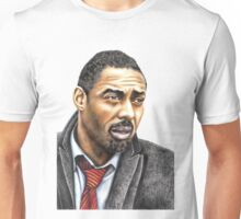 Idris Elba plays Luther Unisex T-Shirt