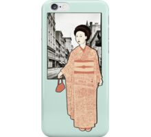 Japanese Line iPhone Case/Skin