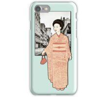 Japanese Line iPhone Case/Skin