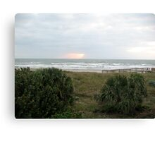 Cocoa Beach, Early AM 2 Canvas Print
