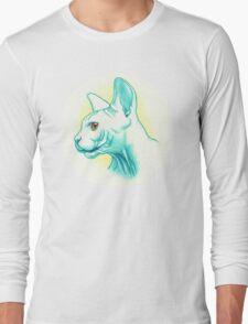 Sphynx cat #01 Long Sleeve T-Shirt