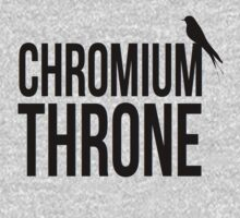 Chromium Throne by sophiestormborn