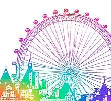 London Eye by obsssddd