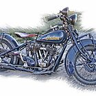 Indian Motorcycle by CarolM