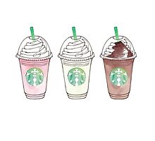 Cute Starbucks Drinks by netnetnet