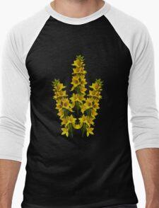 Dotted Yellow Loostrife, Muckross Head, Donegal Men's Baseball ¾ T-Shirt