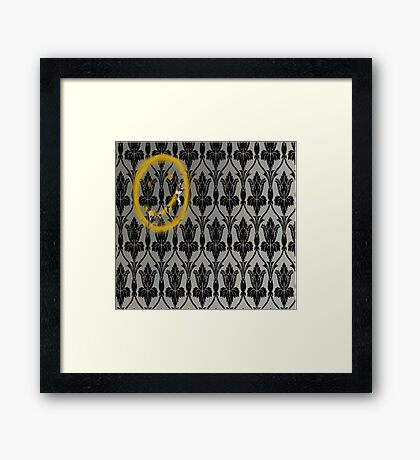 Sherlock's Wallpaper Framed Print
