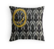 Sherlock's Wallpaper Throw Pillow