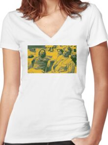 """The Big Lebowski 1"" Women's Fitted V-Neck T-Shirt"