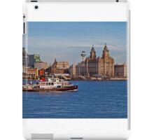 Royal Iris on the Mersey iPad Case/Skin