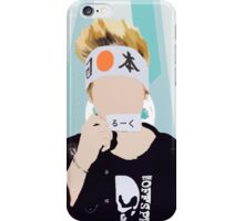 Luke (Blue Version) iPhone Case/Skin