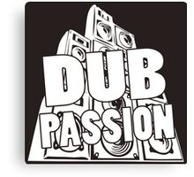DUB PASSION WHITE  Canvas Print