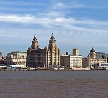 Liverpool Skyline by Roger Green