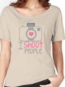 camera photographer Women's Relaxed Fit T-Shirt