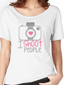 camera photographer Women's Relaxed Fit T-Shirt