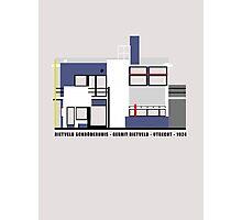 Rietveld Schroderhuis Architecture Tshirt Photographic Print