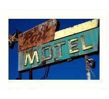 Port Motel Art Print