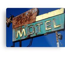 Port Motel Metal Print