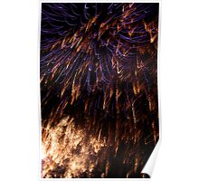 Fireworks in Taree Poster