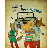 feeling the rhythm Photographic Print