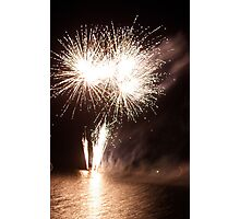 Fireworks in Taree 3 Photographic Print