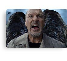 Birdman - Michael Keaton Digital Portrait  Canvas Print