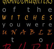 We Are the Granddaughters by margaretmasucci