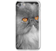 Persian orange eyes iPhone Case/Skin