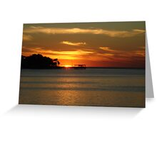 A glimmer of Heaven. Greeting Card