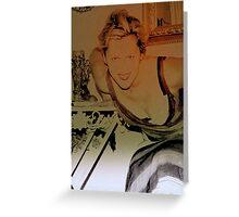 Grecian godess Greeting Card