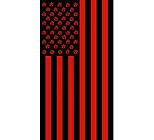 United States of Anarchy - Red Photographic Print