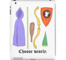 Choose Wisely. iPad Case/Skin