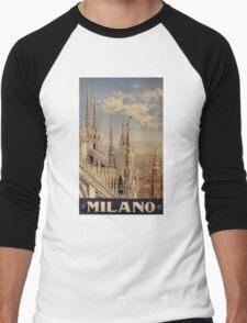 Milano' Vintage Poster (Reproduction) T-Shirt