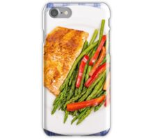 Salmon with Red and Green iPhone Case/Skin