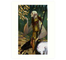 Solas romance tarot  Art Print
