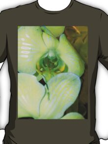 The Greenish Colored Orchid T-Shirt