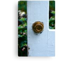 Opportunity Knocks Canvas Print