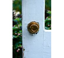 Opportunity Knocks Photographic Print