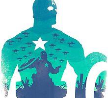 Capitan america by Esteuan