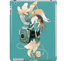 Thumbelina - Turquoise iPad Case/Skin