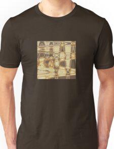 Brown Waves Unisex T-Shirt
