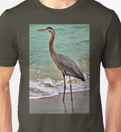 Great Blue Heron Unisex T-Shirt
